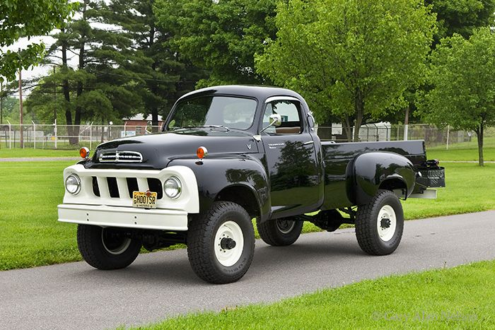 1958 Studebaker Four Wheel Drive Transta Various Trucks Gary