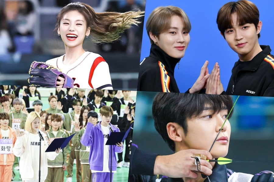 The Broadcast Of Mbc S 2020 Idol Star Athletics Championship New Year Special Is Approaching The Lineup For This Upcoming Lunar Golden Child Idol Athlete