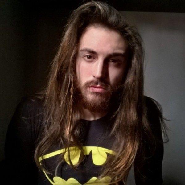 single long hair
