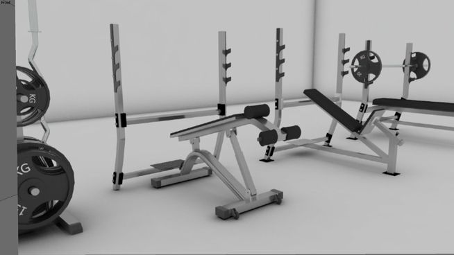 Gym Collection 2 3d Warehouse Gym Sketchup Model Collection