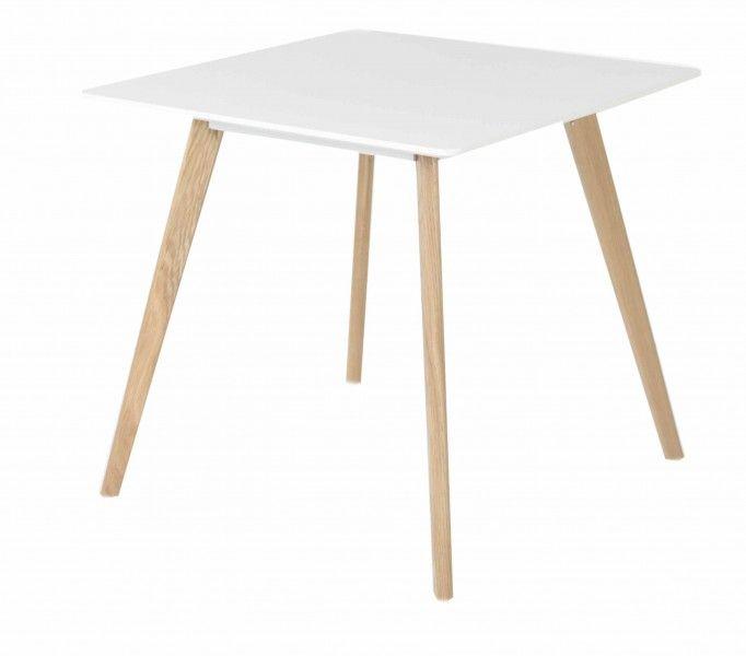 petite table de repas carrée design nordique pixy id'clik 80x80 cm