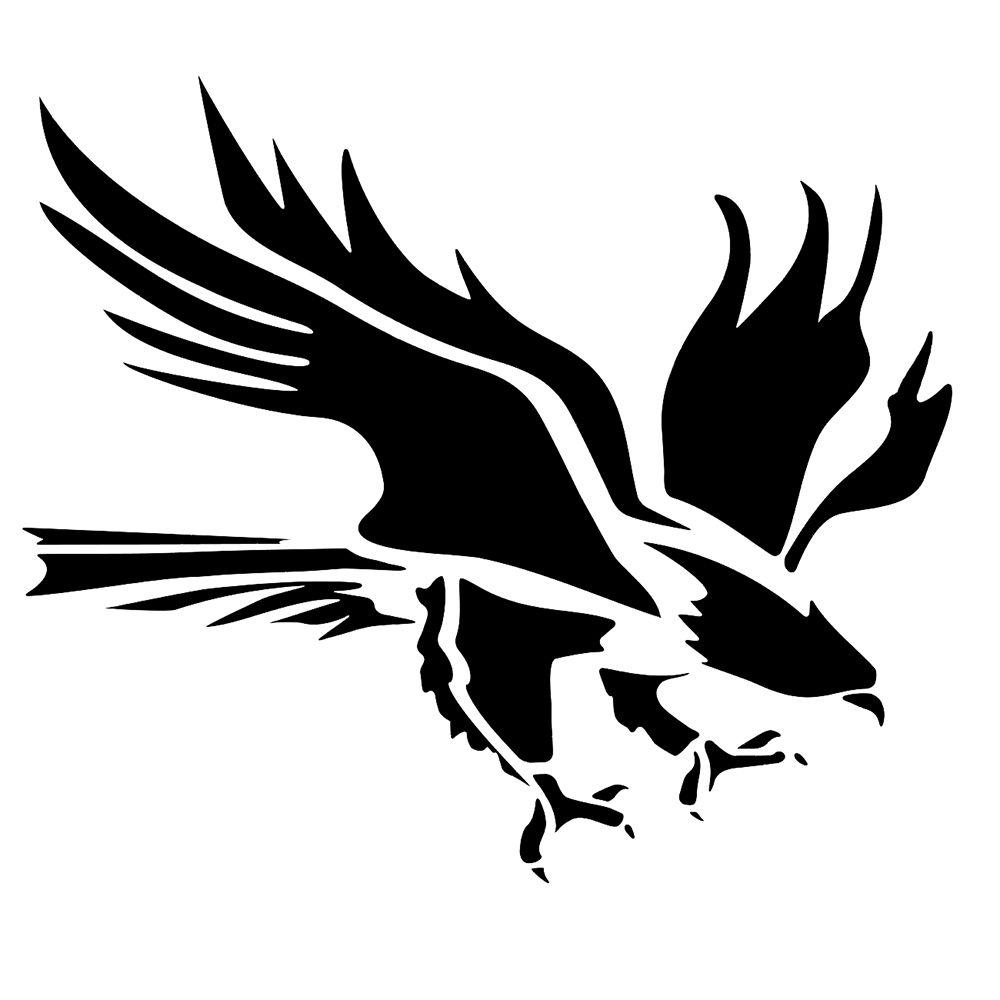 Stencil Eagle SVG PNG PDF Dwg Dxf download stencils