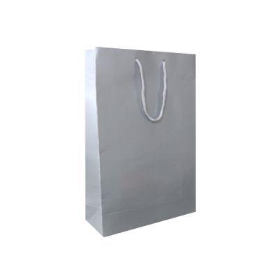 - Gümüş Büyük Karton Çanta