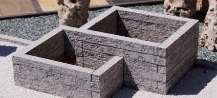 Hochbeet Aus Stein Selbst Bauen Hochbeet Bausatz Aus Naturstein