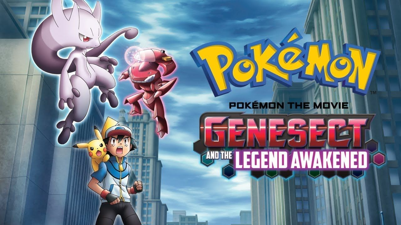 Genesect And The Legend Awakened Full English Dubbed Pokemon