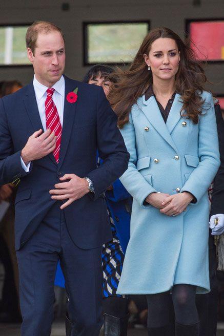 November 8, 2014 - Catherine and William