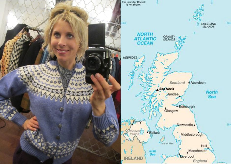 Vintage Trend: The History of Fair Isle Sweaters | Fair isles and ...