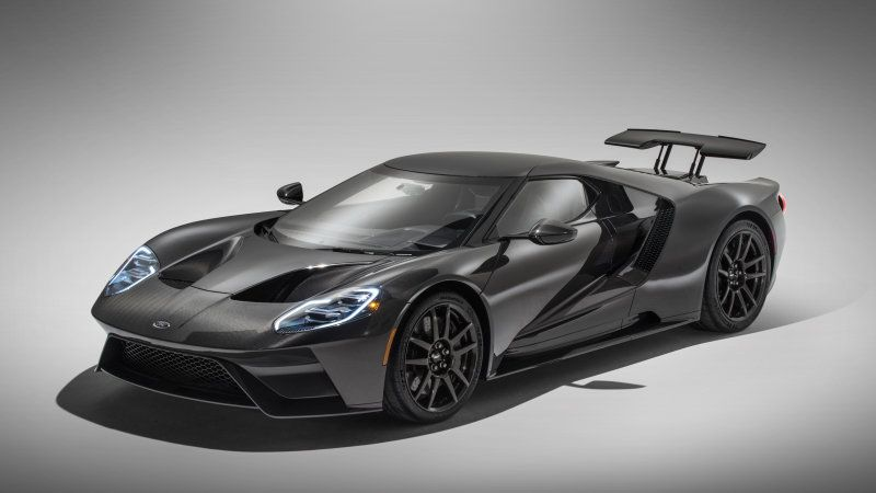 2020 Ford Gt Supercar Gets More Power And A Liquid Carbon
