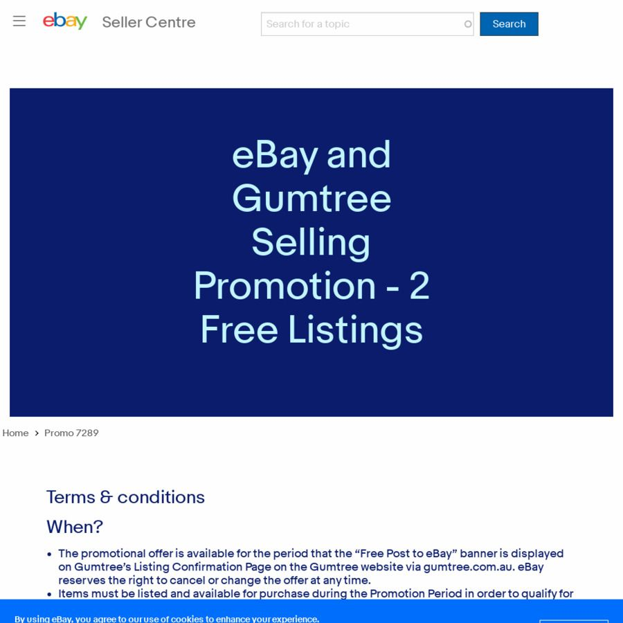 List Sell 2 Items Free Each Month On Ebay Via Gumtree In 2020