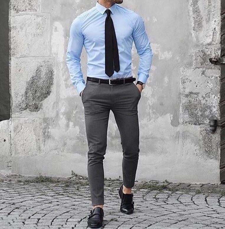 Pin De Vetements Chic Pour Homme En Men S Fashion Pantalones De Vestir Hombre Moda Ropa Hombre Ropa De Hombre Casual Elegante