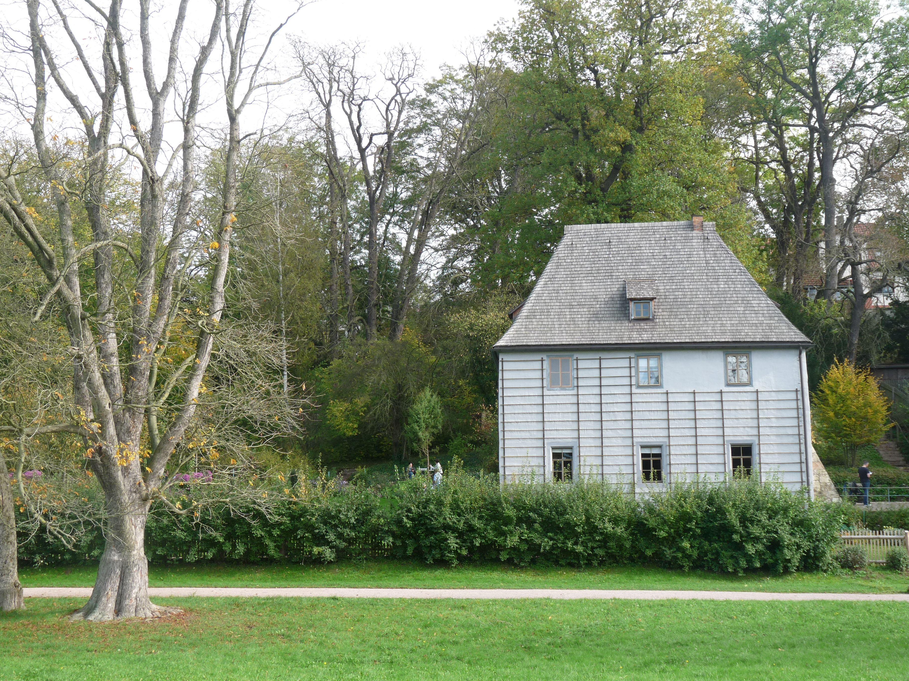 Goethe´s loveley garden house in Weimar...
