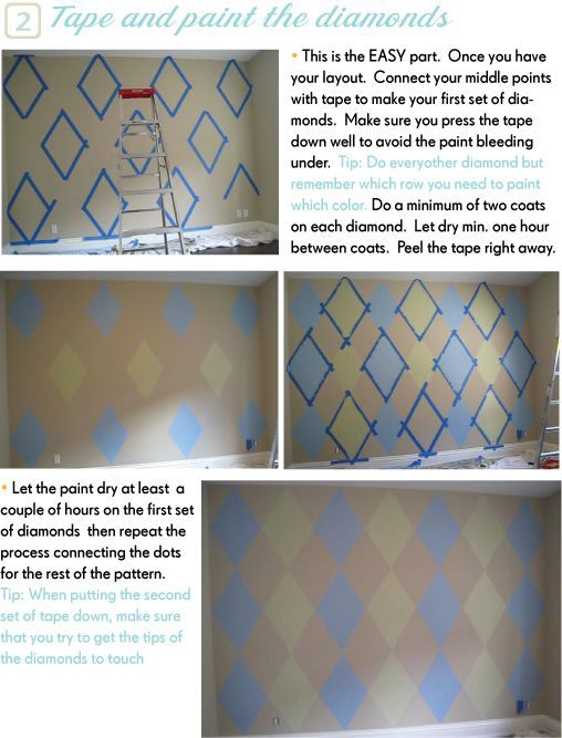 Look at the Bir and Smile: How to Make Your wall look like a ... Ideas Craft Kitchen For Decoratingarts on