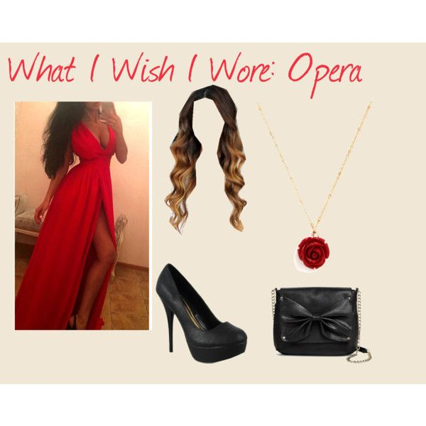What I Wish I Wore: Opera by alatte on Polyvore featuring Sam & Libby