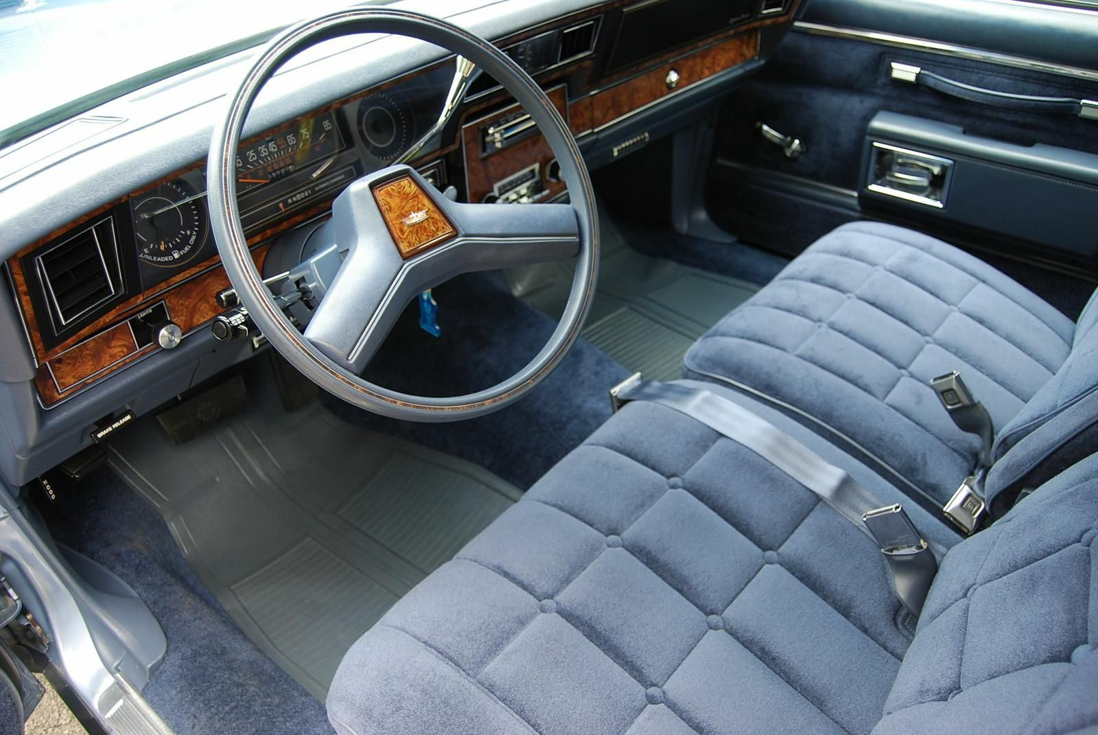 1984 Chevrolet Caprice Classic in Light Royal Blue Poly with ...