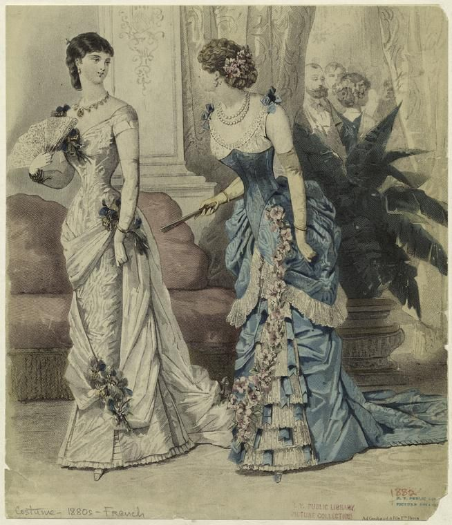 Women Indoors, France, 1882.