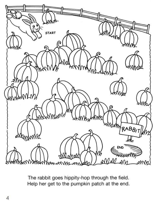 Little Animal Friends Mazes 5 Sample Pages