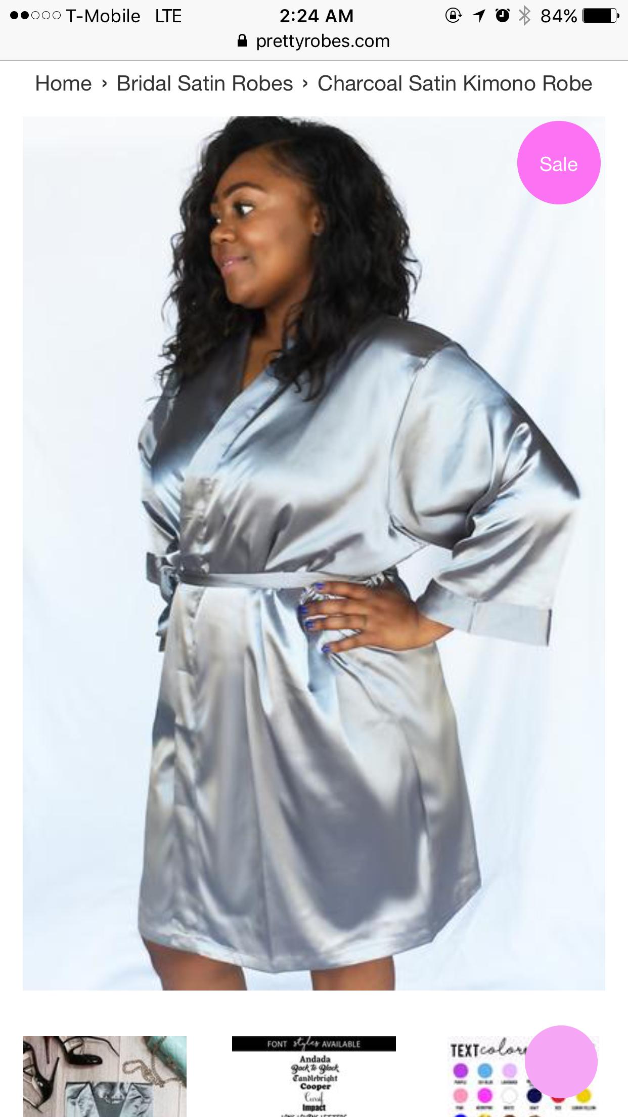 c5d2758ae1ee Bridesmaid Robes, Bridesmaids, Shoulder Sleeve, Belt Tying, Wrap Dress,  Neckline,