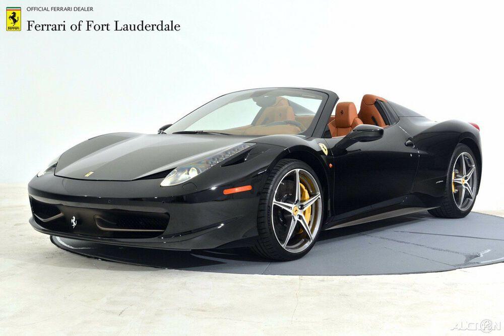 2014 Ferrari 458 2014 Used 4 5l V8 32v Automatic Rwd Premium Ferrari 458 Ferrari Car Manufacturers