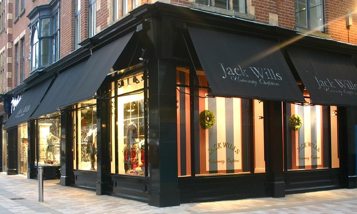 Store Fronts With Awnings