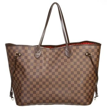 3df3c5361ee9 Louis Vuitton Louis Damier Ebene Neverfull Handbag Brown Tote Bag. Get one  of the hottest styles of the season! The Louis Vuitton Louis Damier Ebene  ...