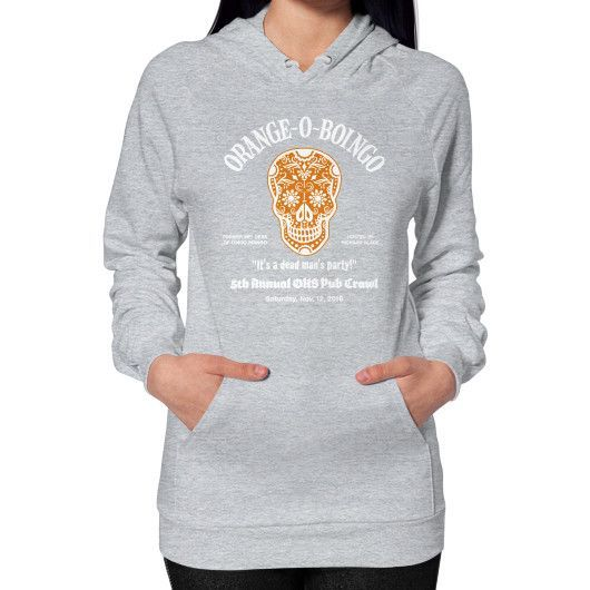 ORANGE O BOINGO Hoodie (on woman)
