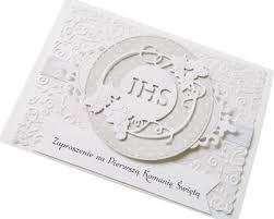 Resultado De Imagen De Zaproszenia Na Komunię Allegro Cardmaking