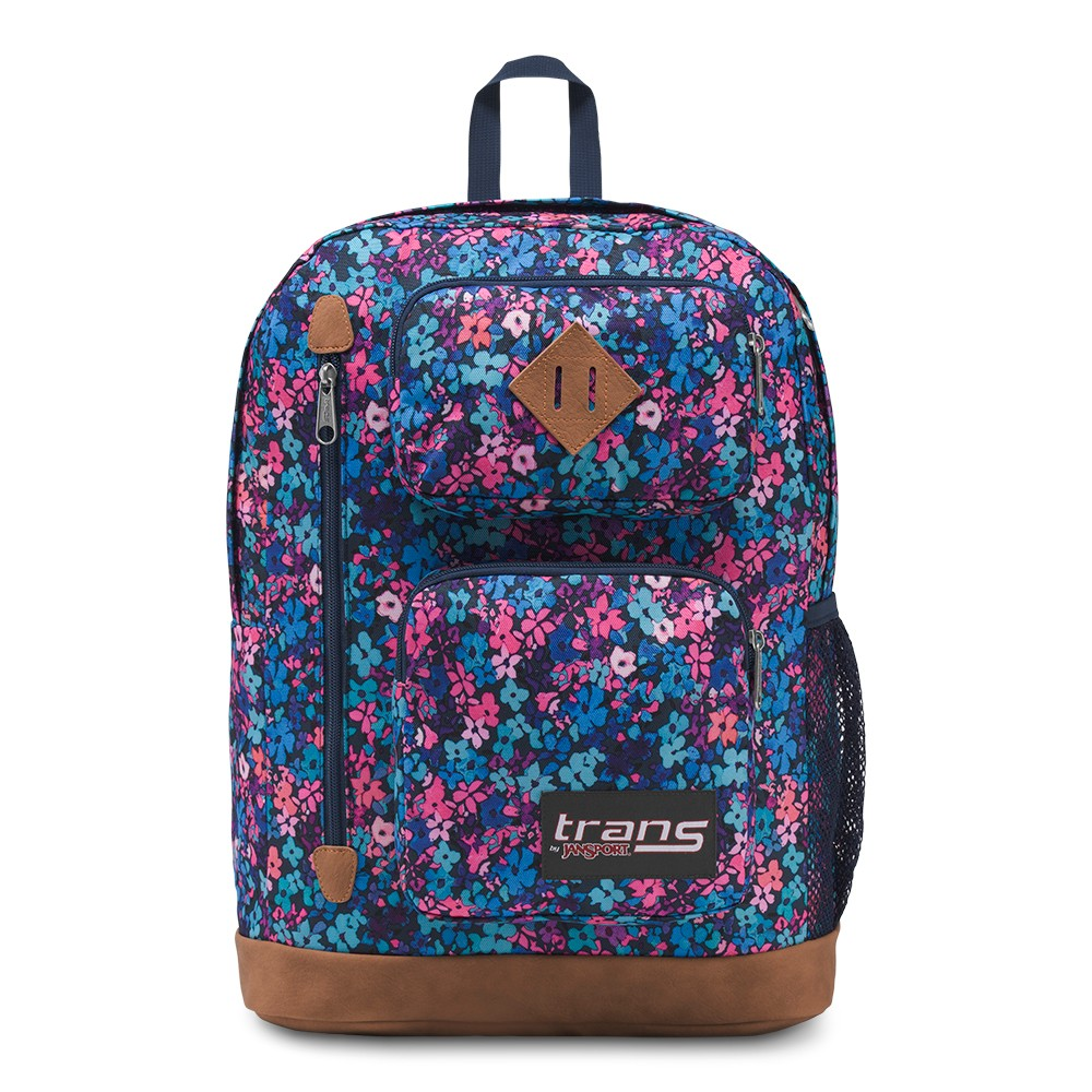 Trans By Jansport 17 7 Transfer Backpack Flower Shower Size