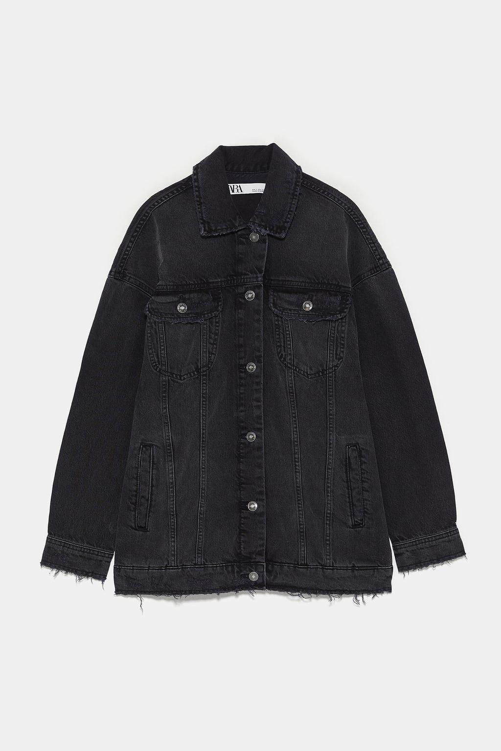 Dzhinsovaya Kurtka Oversajz S Razryvami Novinki Zhenshiny Novaya Kollekciya Zara Rossijskaya Fede Oversized Denim Jacket Oversized Black Denim Jacket Denim Jacket [ 1536 x 1024 Pixel ]