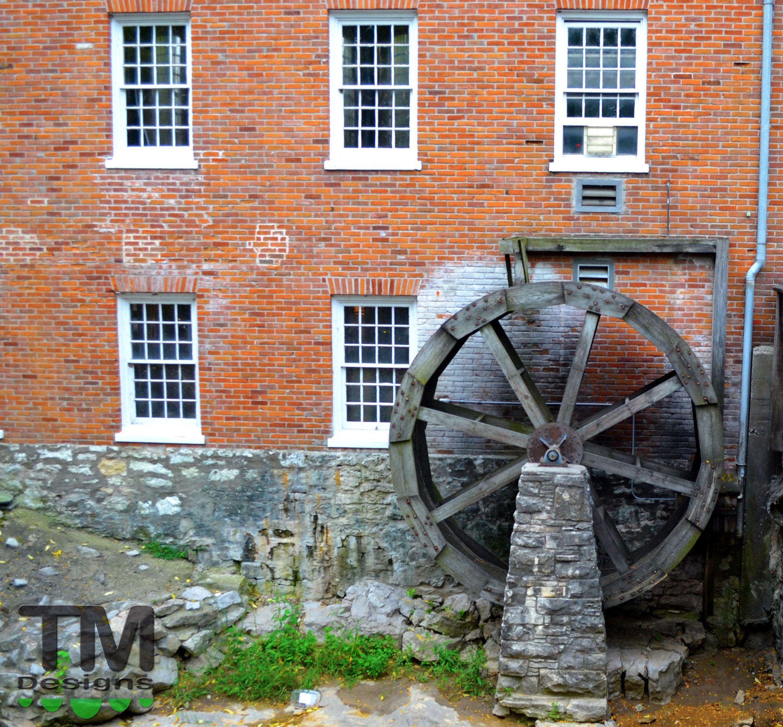 Old Water Wheel, St. Charles Missouri.