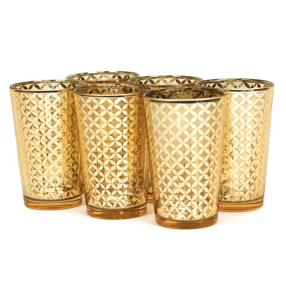 wedding favors wholesale Glass Votive Candle Holders 4 Lattice Gold Votive Holders Wholesale Wedding Supplies Discount Wedding Favors Party Favors an