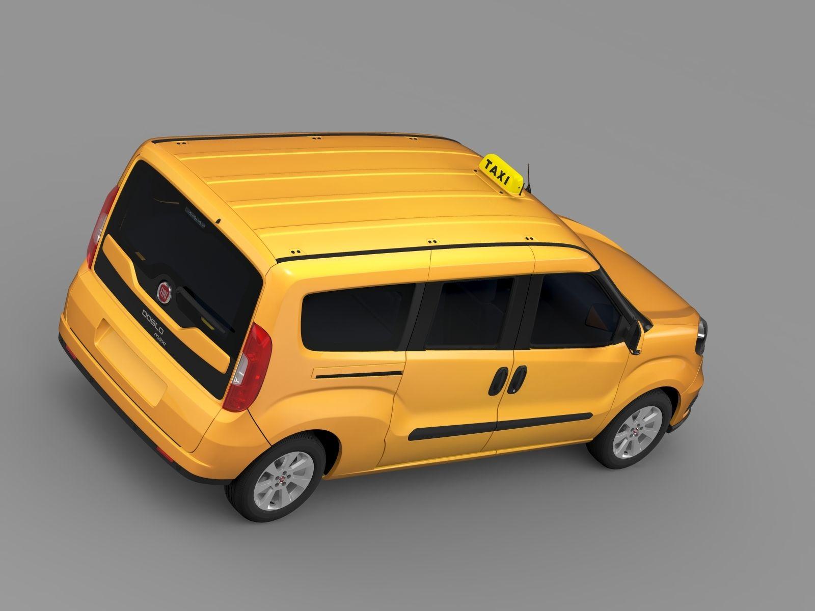 Fiat Doblo Maxi Taxi 152 2015 Fiat Doblo Fiat Taxi