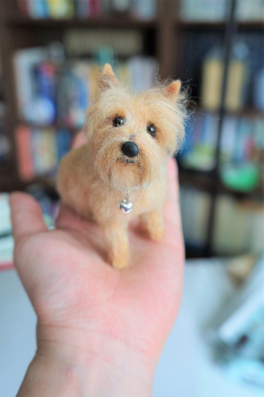 A Needle Feltd Cairn Terrier Named Snozzy