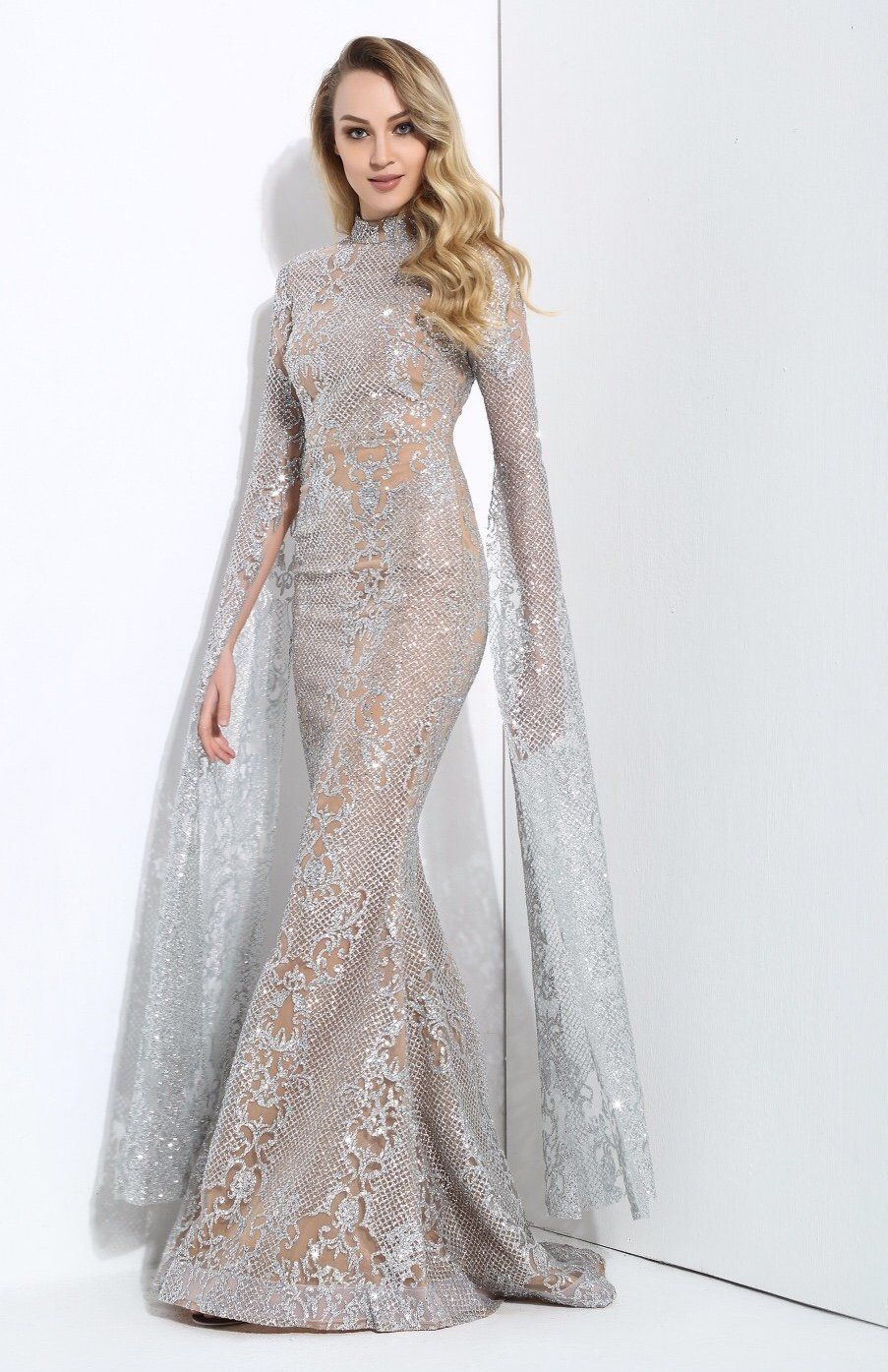 a463bf282c1d ... please note embellishment may come loose and we advise a cold handwash  for this garment Strut your stuff in this amazing fishtail maxi dress!