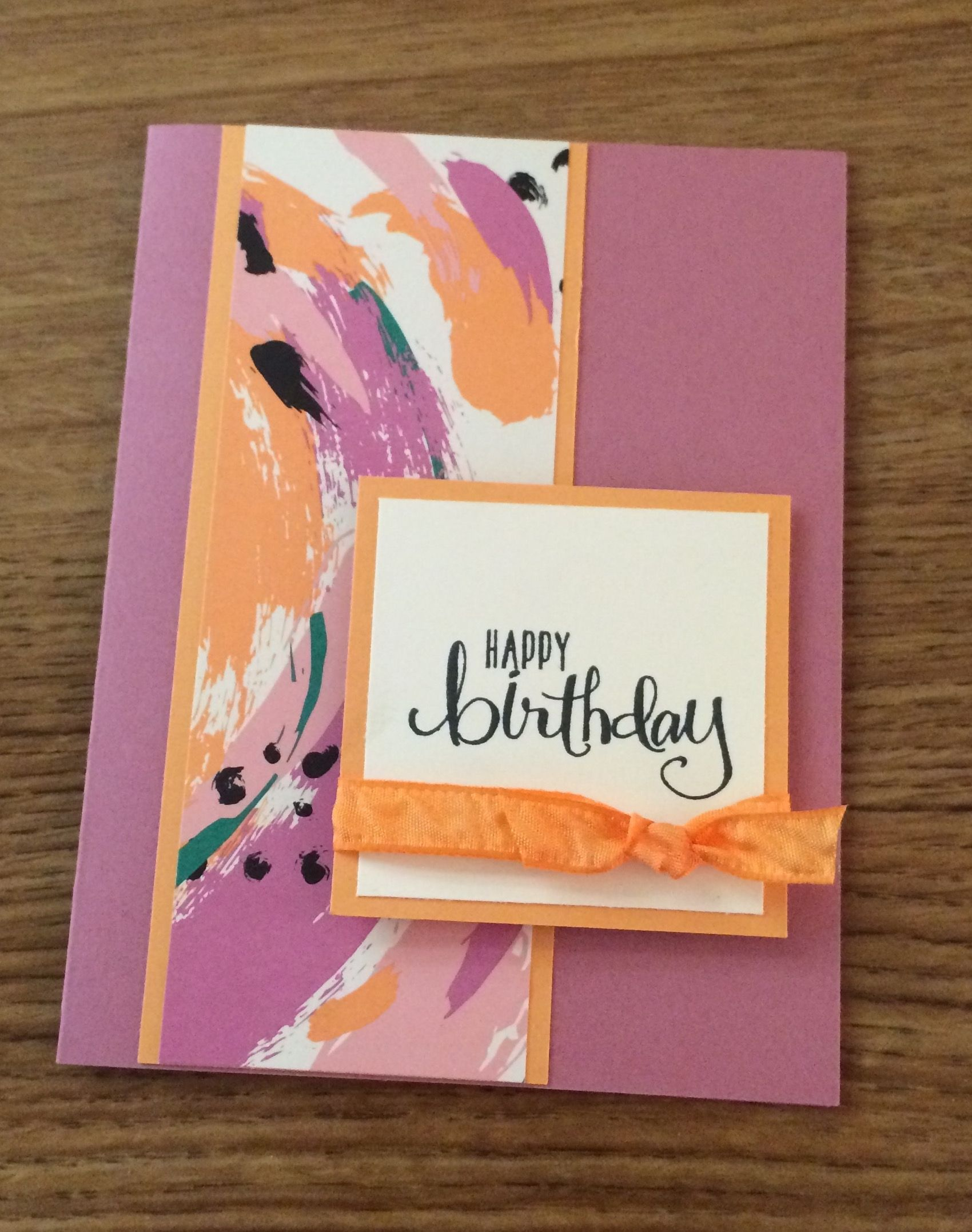 Monday, May 30, 2016 Today's Guest Stamper is Donne. Donne is on my team and she emailed me this card she made using some of the New In Colors and the New Playful Palette Designer Series Paper Stack. Great card...