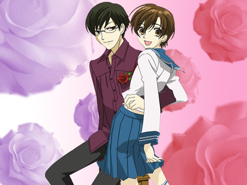 Kyoya and Haruhi by marigoldc4ever.deviantart.com on ...