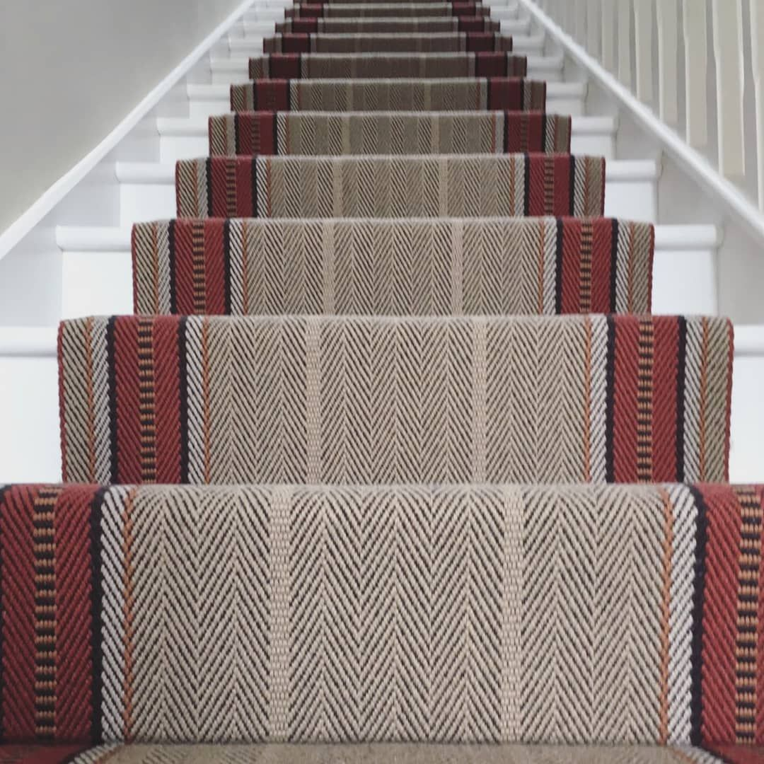 Beautiful Roger Oats Stair Carpet Fitted By Our Wonderfully Skilled Carpet Fitter Noel Call Into Any Of Our Carpet Fitters Carpet Fitting Carpet Stairs