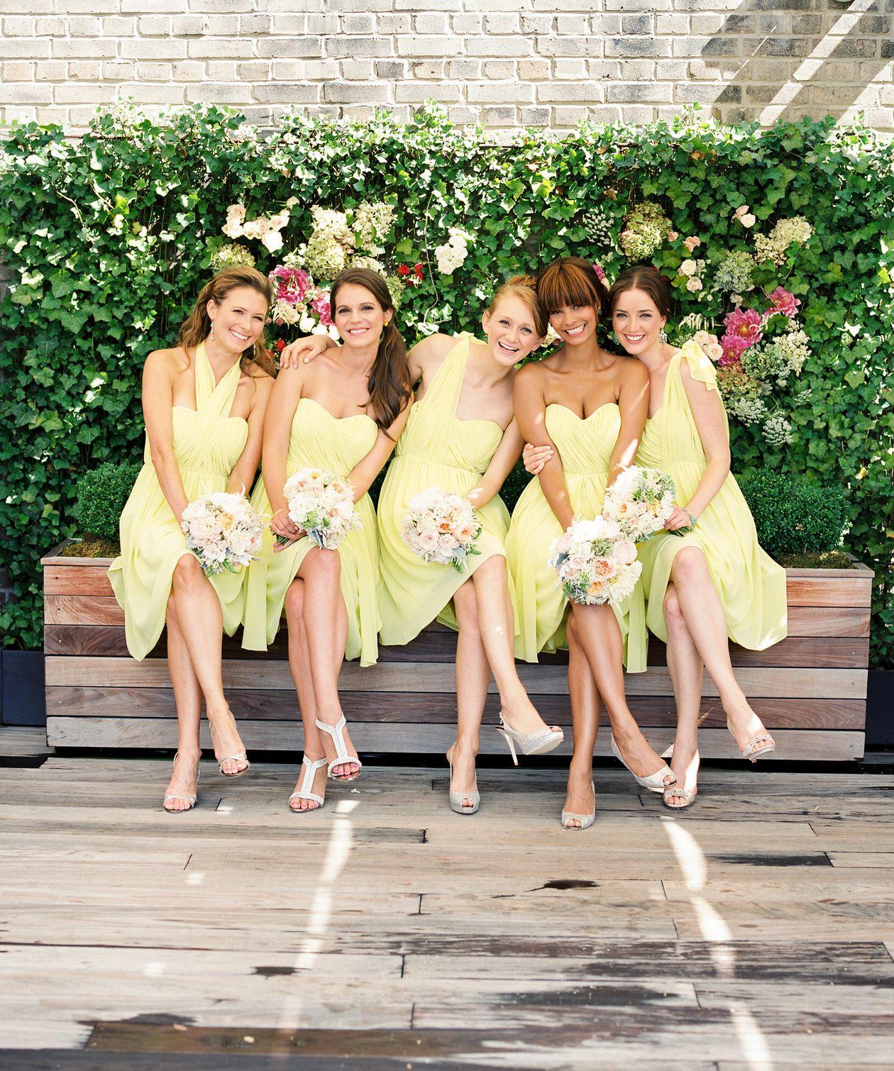 Unique Bridesmaids Dresses Spring