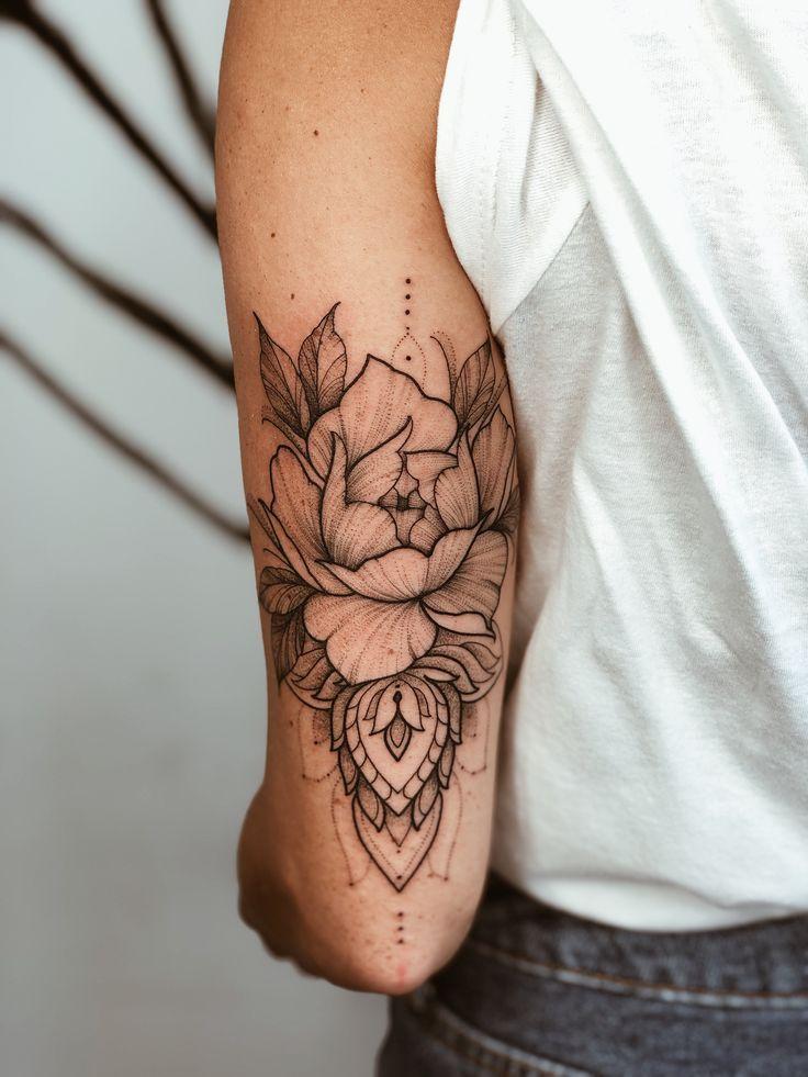 Photo of Tatouage mandala fleur