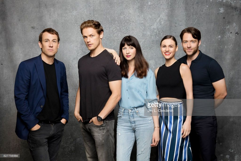 """Cast of """"Outlander"""" are photographed in the L.A. Times"""