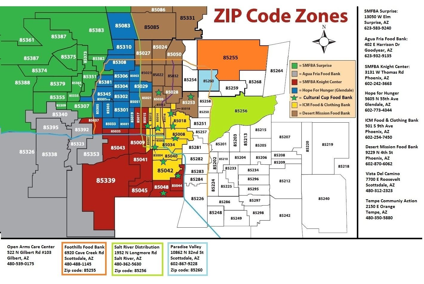 Zip Code Map Of Scottsdale Az | Zip Code MAP
