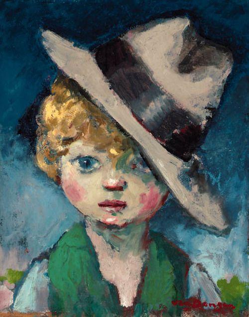 Tête d'enfant, Kees van Dongen. Dutch (1877 - 1968)