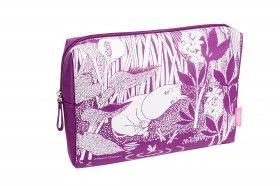 Muumi kosmetiikkalaukku - Moomin by Cailap cosmetic bag #Moomin #cosmeticbag