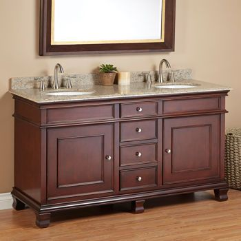 Manhattan 60 Double Sink Vanity Mission Hills Has Sinks Counter All