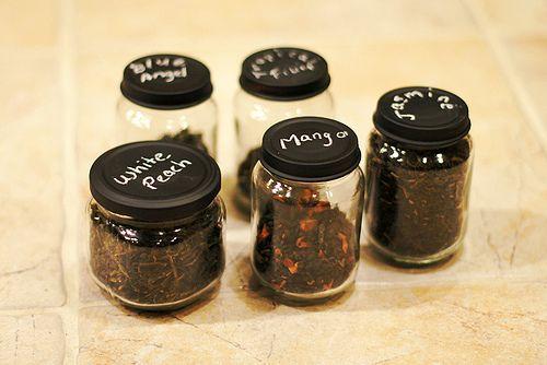 Tea storage jars tutorial
