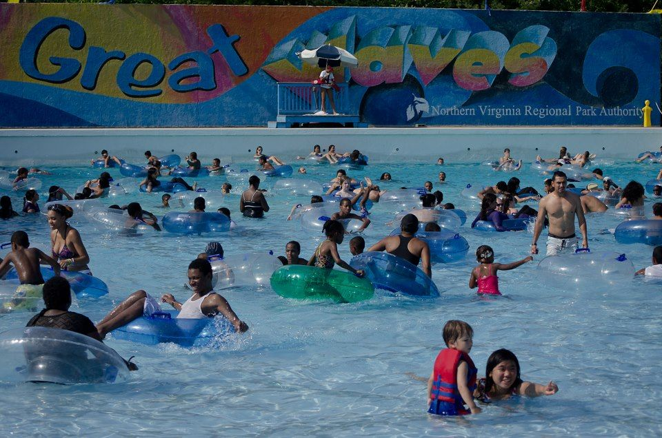 Great waves waterpark alexandria va our waterparks pinterest Swimming pools in alexandria va