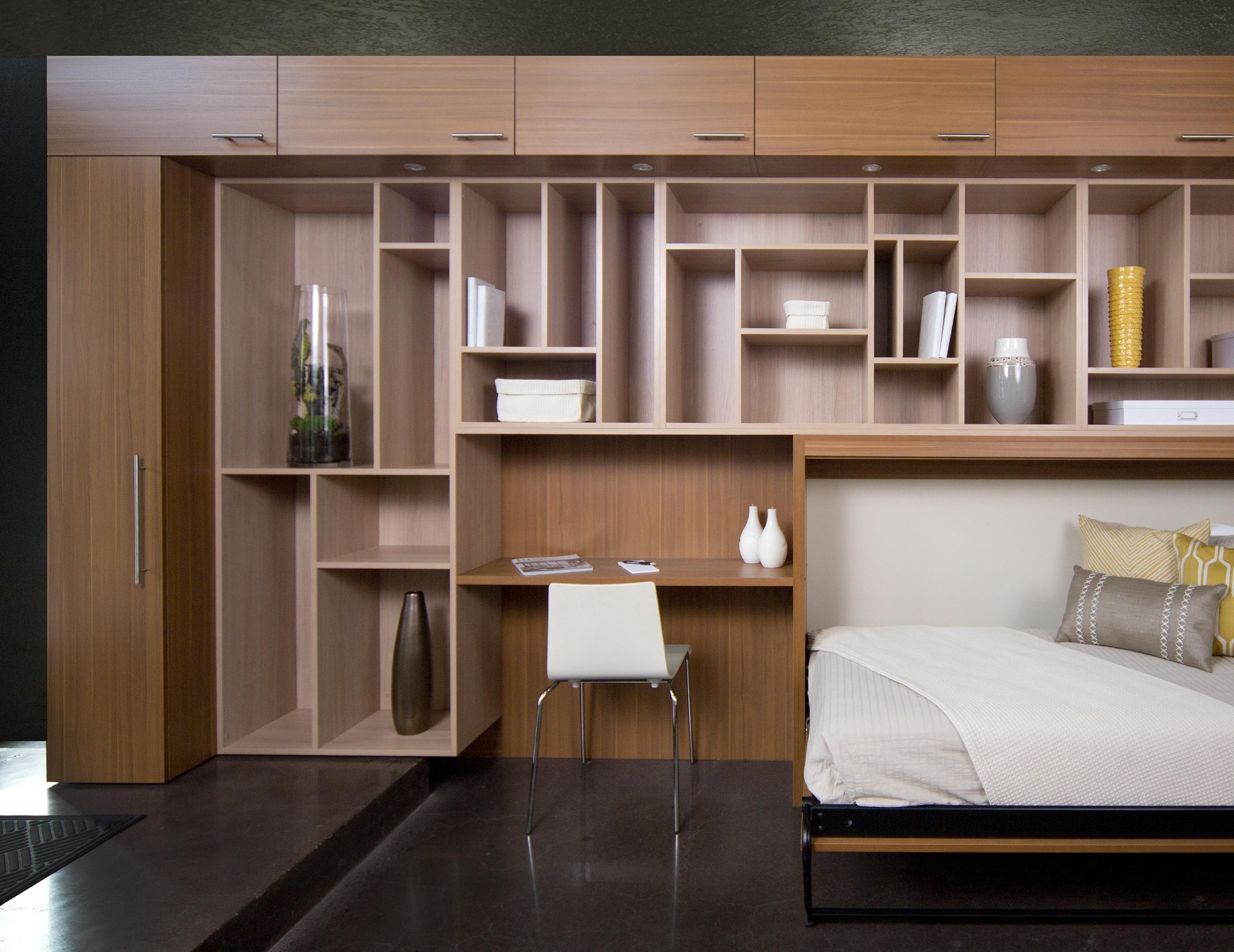Modern Wall Beds Custom Built Wall Beds By California Closets California Closets Bed Wall Wall Bed Designs
