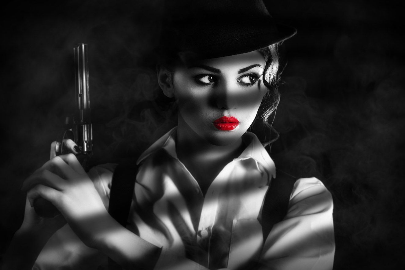 Black and White with Selective Color Effect in Photoshop ...