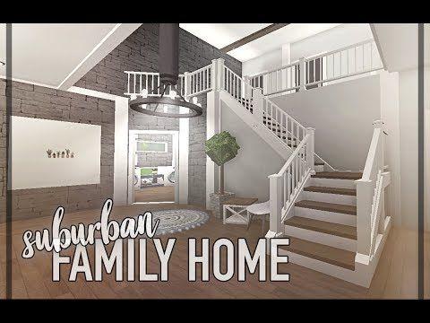 Bloxburg Suburban Family Home Youtube Luxury House