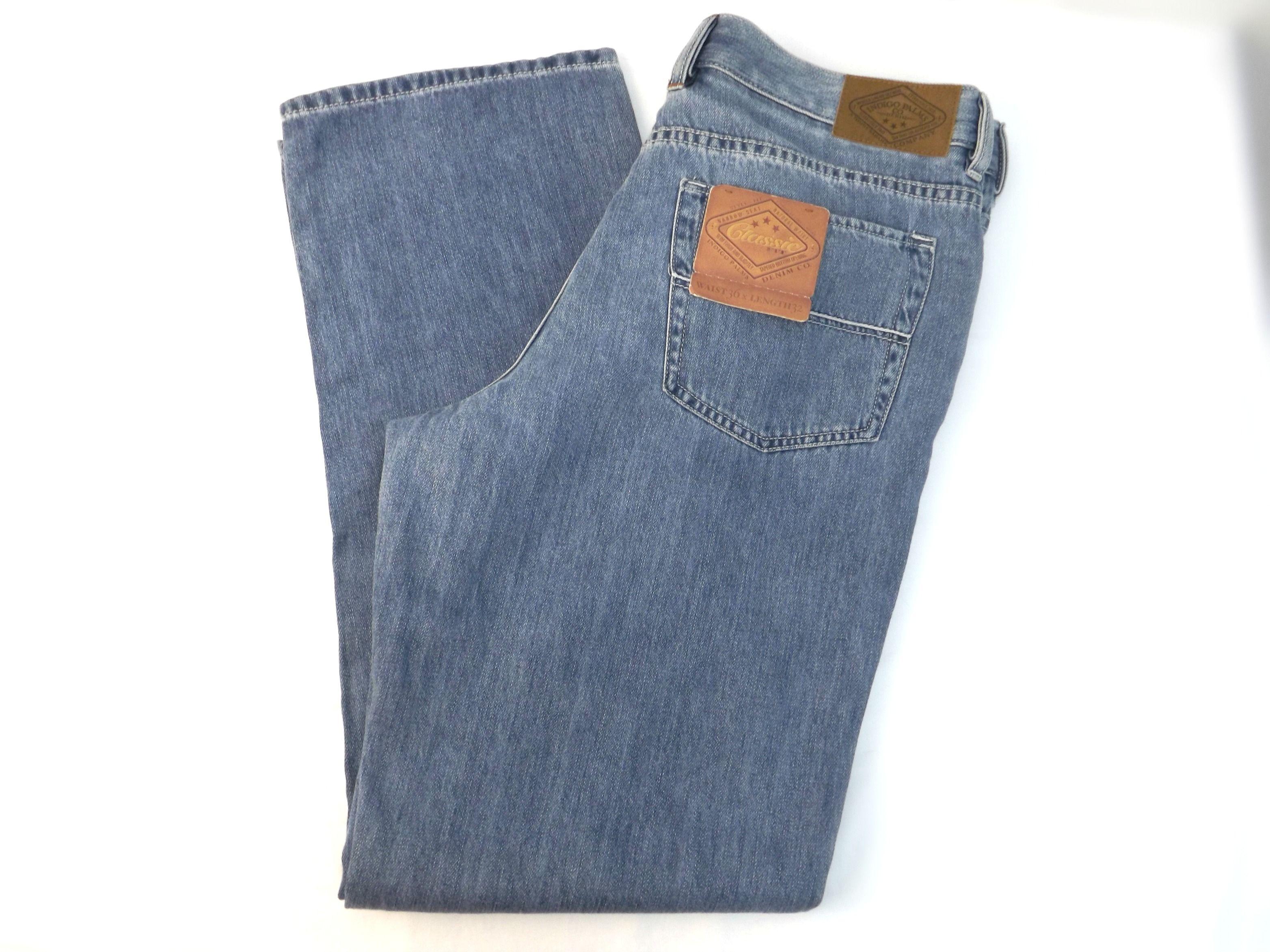 f6607d1c TOMMY BAHAMA Indigo Palms Classic Fit Jeans Size 36 X 32 Blue Mens Jeans New