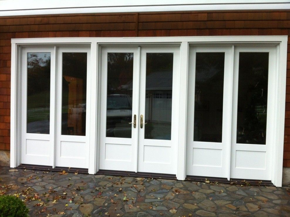 Replace Garage Doors With These French Doors Exterior French Doors Garage Doors